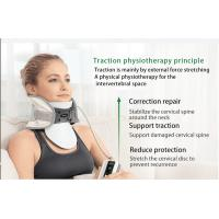 QY03-2 Cervical Traction Collar Width Before / After Inflate 3.74 / 6.1 In Manufactures