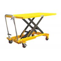 China Ageing Resistance Heavy Duty Lift Table , Extra Large Plate Scissor Lift Work Table on sale
