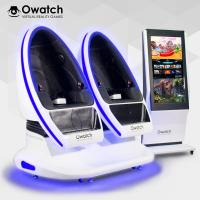 Owatch-Varied Special Effects Double Seats VR DPVR E3 (2K) Glasses VR Cinema Amusement Equipment 9D VR Chair Manufactures
