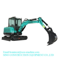Green 4450mm 2.6 T 0.1 CBM Hydraulic Crawler Excavator Manufactures
