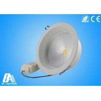 20W White COB LED Downlights 20w 5 Inch For Bedroom Dinning Room Manufactures