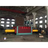 Cheap 135 Kw Motor Hydraulic Baling Press Machine Cuboid Block Scrap Metal for sale
