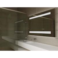 Luxury Smart TV LED Light Up Bathroom Mirror With Bluetooth Loudspeaker