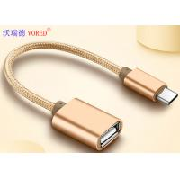 USB To Type C Micro USB Data Transfer Cable , OTG Mobile Phone USB Cable Manufactures