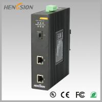 Din Rail Industrial Gigabit Ethernet Switch 2 Electric Port And 1 Sfp Fx Manufactures