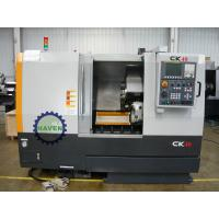China Cast Iron Bed Conventional CNC Lathe Machine with FANUC 0i mate control system on sale