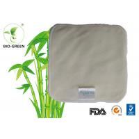 """Quality High Absorb Square Bamboo Baby Wipes Double Terry Layer Available 25*25cm / 10"""" for sale"""