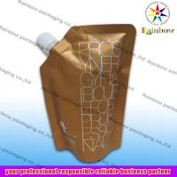 side spout pouch packaging for drink, bottom gusset bag Manufactures