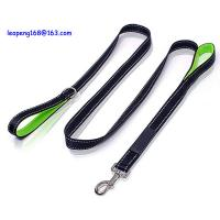 Reflective Nylon Hands Free Dog Leash Pet Safety Walking and Trainning Leash factory price Manufactures