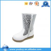 Girls italian latest fashion winter boots orthotic footwear white orthopedic