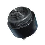 Panel Mounted Piezo Alarm Buzzer With Big Sound Speaker , Black