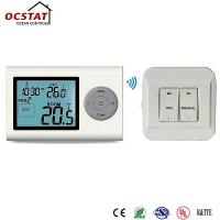 China 7 Day Programmable Thermostat ,  WiFi Room Thermostat With Heating And Cooling Control on sale