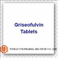 Cheap 500mg Western Medicine Ultramicrosize Griseofulvin Tablets For Tinea for sale