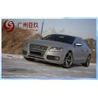 Grey Derek Matte Vinyl Wrap For Car / Motorcycle With Air Release Channels Manufactures