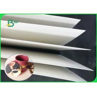 High Bulk 1.2mm 1.4mm 1.6mm Absorbent Uncoated Paper For Beer Coasters Manufactures