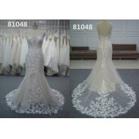 Embroidery Appliques Vintage Lace Sweetheart A Line Wedding Dress Pure White Bridal Wear Manufactures