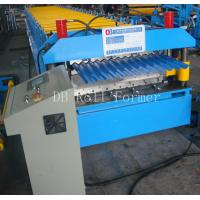 Cheap 5.5kw Corrugated Steel Panels Roll Forming Machine for Wall Board Production for sale