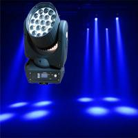 19*12W RGBW Osram LED Zoom Beam Wash Moving Head Light Manufactures