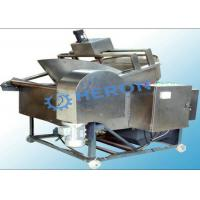 Cheap Continuous Frying Line Stainless Steel Deep Fryer High Degree Automation for sale