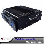 hard disk 4-channel vehicle dvr Manufactures