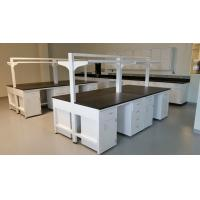 C-Frame Chemical Resistant Modular Laboratory Furniture with Hanging Cabinets & Shelf Manufactures