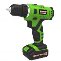 Lightweight Compact Soft Grip 1.3Ah Lithium Cordless Electric Drill , Rechargeable electric drill 12V Drill Set Manufactures