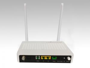 Onu Fttx Xpon Onu 1Ge+1Fe+Pots+Catv Wifi Onu For Ftth Solutions Manufactures