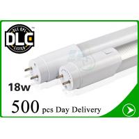 High Lumen 1980lm 4ft 18W Led Tube Light T8 For Warehouse , UL DLC Listed Manufactures