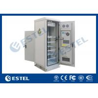 Temperature Control Custom Made Antitheft Outdoor Telecom Cabinet With Front Door And Back Door Manufactures