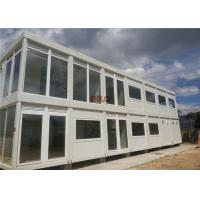 20ft Steel Frame Mobile Container House Prefab Movable For Hotel Labor Camp Manufactures