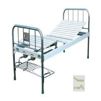 Normal Simple Metal Manual Hospital Bed , Hospital Steel Bed CE ISO Approved Manufactures