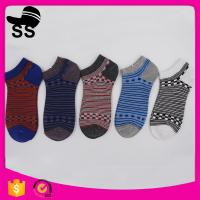 2017 Custom 69% Cotton 25 % Polyester 6%Spandex 22.5cm 24g Sporty Stripes Adults Apparel Hosiery Winter Knitting Socks Manufactures