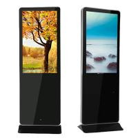 Customized 42 Inch - 84 Inch LCD AD Player Display Kiosk Iphone Style Manufactures