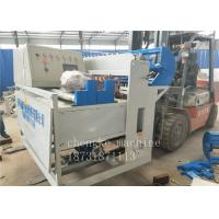 China Low Carbon Hot Dipped Galvanized Wire Mesh Fence Machine Automatic For Anti Climb Fence on sale