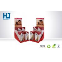 Recyclable Advertising Portable Cardboard Counter Display Boxes For Medicine Manufactures
