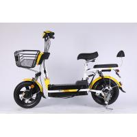 Lead Acid Battery Portable Scooter Foldable Ebike With Double Seat And Brushless Motor Manufactures