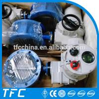 rubber lined motor electric motor operated butterfly valve Manufactures