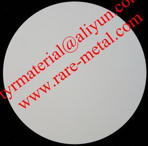 Cheap Zirconium oxide (ZrO2) sputtering targets, purity: 99.95%,  CAS: 1314-23-4 for sale