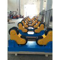 Tank Turning Rolls / Pipe Welding Rotator With Double Drive , 0.1-1 m/min Roller Speed Manufactures