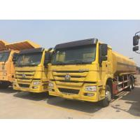 Radial Tyre Fuel Oil Transportation Trucks 6X4 LHD Euro 2 336HP Lengthened Cab Manufactures