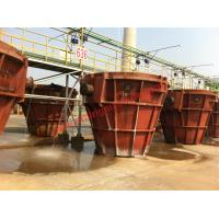Customized Welded Slag Smelting Pot 3 - 16 Cubic Meters With High Strength Manufactures