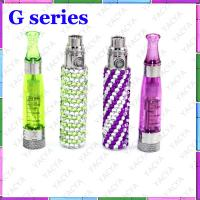 3 - 5 Hours 650mAh Crystal Bling Ego E Cig Battery With CE9 Atomizer OEM Manufactures