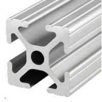 China T-slot  aluminum extrusion profiles Steel polished Suface Treatment on sale