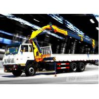 Cheap 12Ton Mobile 12T Knuckle Boom Truck Mounted Crane For Landscrape Jobs for sale