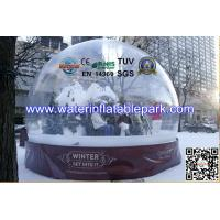 Christmas 1.0mm PVC Inflatable Bubble Tent Transparent For Advertising Manufactures