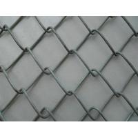 Thickness 2.0mm PVC Chain Link Fencing  50 * 100mm Size For Garden / Parks Manufactures