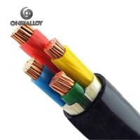 Insulated Electrical Power Cables Armoured PVC Sheathed Copper / CuNi Conductor Manufactures