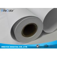 128G Large Format  Matte Coated Paper Inkjet Printing 30M For Water Based Printer Manufactures