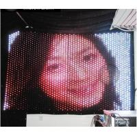 DMX RGB Soft Flexible LED Curtain for Portable Backdrops Stage Decoration Manufactures