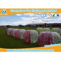 Yellow Color 1.5m TPU Inflatable Bubble Ball Loopy Ball , Inflatable Human Bumper Ball